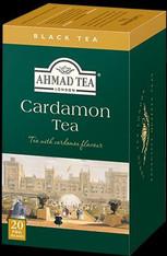 33225AHMAD TEA CARDAMONAHMAD #097 6/20 CT FOIL BAGS