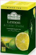 33234	AHMAD TEA LEMON & LIME	AHMAD #697 6/20 CT FOIL BAGS