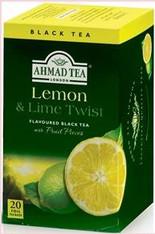 33234AHMAD TEA LEMON & LIMEAHMAD #697 6/20 CT FOIL BAGS