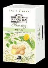 33256AHMAD TEA DETOXAHMAD #1366 6/20 CT FOIL BAGS