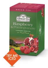 33258AHMAD TEA RASPBERRY & POMEGRANAHMAD #1242 6/20 CT FO