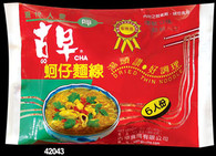 42043	OYSTER NOODLE 6 INSTANT	GO CHA 20/10.5 OZ