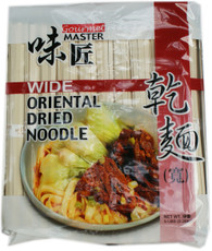 42233	DRIED NOODLE WIDE	GOURMET MASTER 6/5 LBS