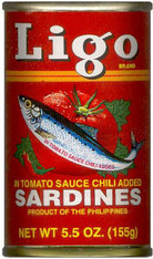 51089	SARDINE HOT-PHIL	LIGO 100/5.5 OZ