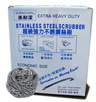 "62210	""STAINLESS S/SCRUBBER,TWN""	DURACLEAN 10/10 PCS"