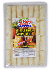 91536	NET RICE PAPER SPRING ROLL	SAVORY EXPRESS 20/28PCS/20