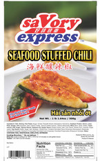 91537	SEAFOOD STUFFED CHILI	SAVORY EXPRESS 20/500G