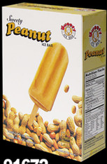 91672	ICE BAR PEANUT	SWEETY 12/4 PC