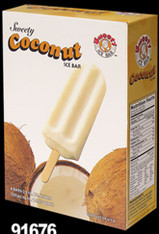 91676	ICE BAR COCONUT	SWEETY 12/4 PCS