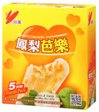 91696	ICE BAR PINEAPPLE & GUAVA	CHIAO MEI 6/5 PC