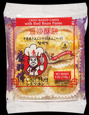 94443	RED BEAN PASTE CRISPY BAKE CAK	PEKING #36 30/4 PC