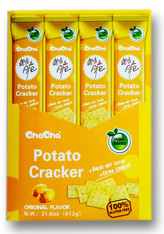 43731  POTATO CRACKER ORIGINAL FLAVOR CHACHA 4/12/51g