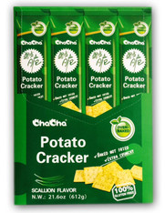 43735  POTATO CRACKER SCALLION FLAVOR CHACHA 4/12/51g