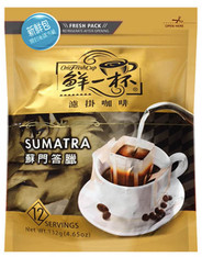 46701	COFFEE DRIP SUMATRA	ONE FRESH CUP 12/12/11G
