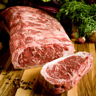 Certified Hereford USDA Choice Boneless NY Strip Loin