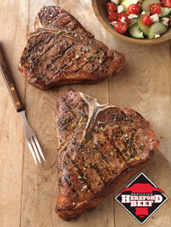 Certified Hereford USDA Choice Texas T-Bone Steak - 20 oz