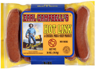 Earl Campbell's Hot Links/Campbells/Campbell Sausage - 2.5 pound