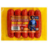 Earl Campbell's RED Hot Links/Campbells/Campbell Sausage - 2.5 pound