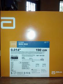Abbott 1001309 HI-TORQUE IRON MAN Guide Wire .014x190cm