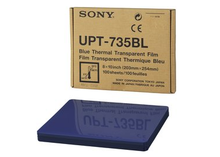 Sony UPT735BL Blue Thermal Transparency Film 8 x 10
