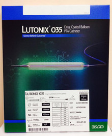 Bard LX351306100 Lutonix 035 Drug Coated Balloon PTA Catheter  6.0mm x 100mm