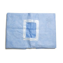89241 Pediatric Laparotomy Drapes Sterile 3 X 8 in. Rectangular Fenestration Individually Wrapped, case of 15
