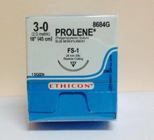 Ethicon, 8684G, PROLENE, Suture