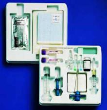 Carefusion BK1000 Bone Marrow Standard tray with 10cc syringe; no needle included