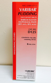 90006 Varibar Pudding Contrast Media Barium Sulfate 40% Oral Administration Paste Tube Vanilla 230 mL