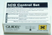 00272 Urine hCG Control Set QuickVue One-Step Pregnancy (hCG) Testing Positive / Negative 2 X 4.5 mL