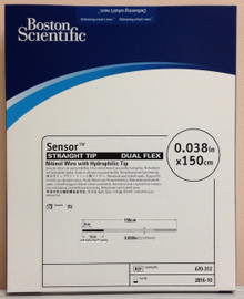Boston Scientific 670-312 Sensor Straight  Tip Dual Flex Nitinol Wire with Hydrophilic Tip