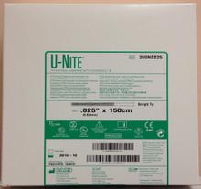 "Bard 250NSS25 U-Nite PTFE Nitinol Guidewire with Hydropholic Tip 0.25"" x 150cm"