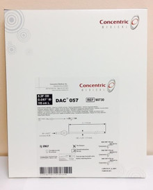 """90730 Concentric Medical DAC057 Distal Access Catheter 5.2F OD, 0.057"""" ID, 115cm L. Box of 1"""