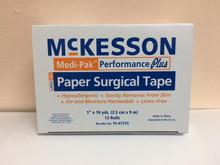 16-47310 Medical Tape Medi-Pak™ Performance Plus Paper 1 Inch X 10 Yard NonSterile. Case/144
