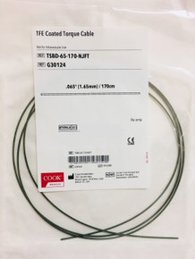 "TSBD-65-170-NJFT Tiger 2 ™ Self-Advancing Nasal Jejunal Feeding Tube. Torque Cable Diameter .065"". 170cm Length (Not for intravascular Use) Price of each"