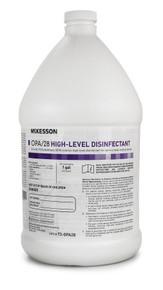73-OPA28 McKesson OPA / 28 OPA High Level Disinfectant RTU Liquid 1 gal. Jug Max 28 Day Reuse. Box of 4