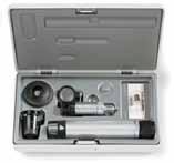 HEINE  C-265.27.376 HSL 150 Hand-held Slit Lamp Set: BETA R Handle (Li-Ion) and hard case