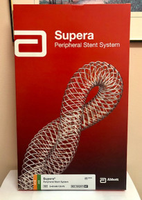 S-45-040-120-P6 Supera Peripheral Stent System 4.5 mm x 40mm x120cm 6 Fr.