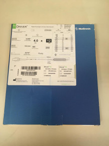 DRV40012UX-EXP Medtronic DRIVER Rapid Exchange Coronary Stent System 4.0 x 12