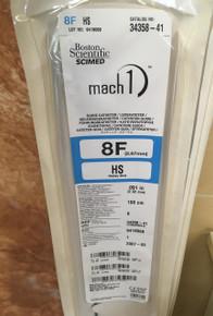 34358-41-EXP Boston Scientific SCIMED mach1 8F HS GUIDE CATHETER