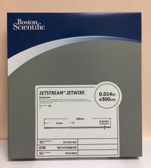 """PV014300 011525-001 Boston Scientific JetStream Jetwire Guidewire 0.014"""" x 300cm. Box of 5"""