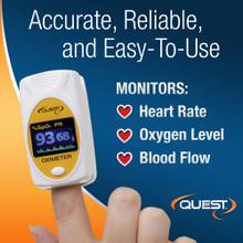 588488 Quest Fingertip Pulse Oximeter