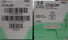 Ethicon 668G ethilon suture