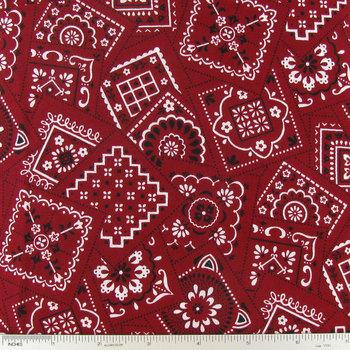 Red Bandanna Squares