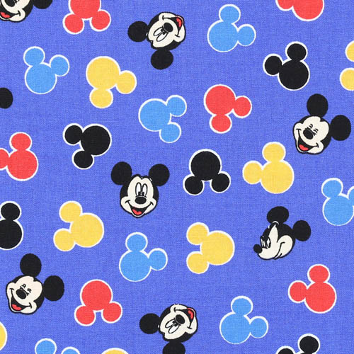 Blue Mickey Mouse Heads