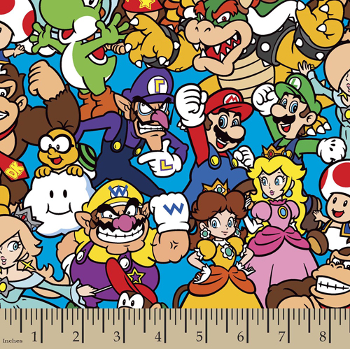 Nintendo Packed Fabric