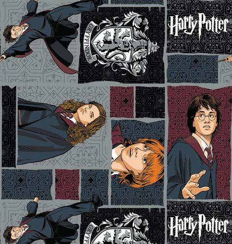 Potter Squares Fabric