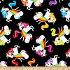 Barfing Unicorns- Fabric for special needs bibs