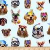 Beach Dogs- Fabric for special needs bibs