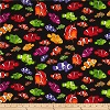 Clown Fish on Black- Fabric for special needs bibs